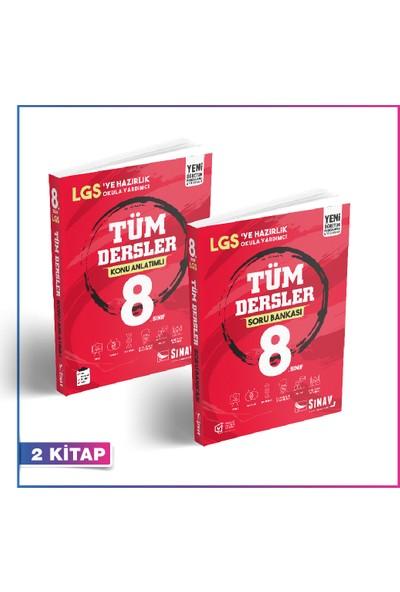 Sınav Yayınları 8. Sınıf Tüm Dersler Kazandıran Set