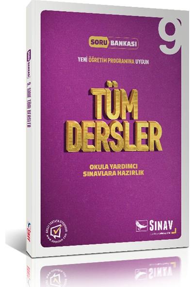Sınav Yayınları 9. Sınıf Tüm Dersler Çözümlü Soru Bankası