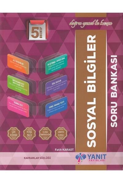 Yanıt Yayınları 5.Sınıf Sosyal Bilgiler Soru Bankası - Fatih Karaot