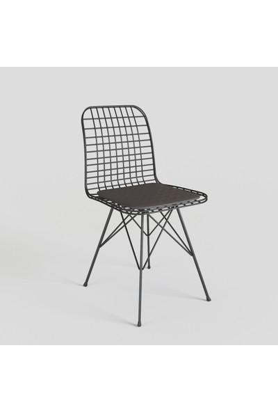 Theia Tel Sandalye, Kafe Mutfak Sandalyesi