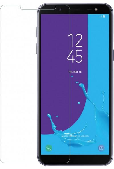 Engo Samsung Galaxy J6 Ekran Koruyucu Cam 2.5D 9H Temperli Şeffaf Ekran Koruyucu