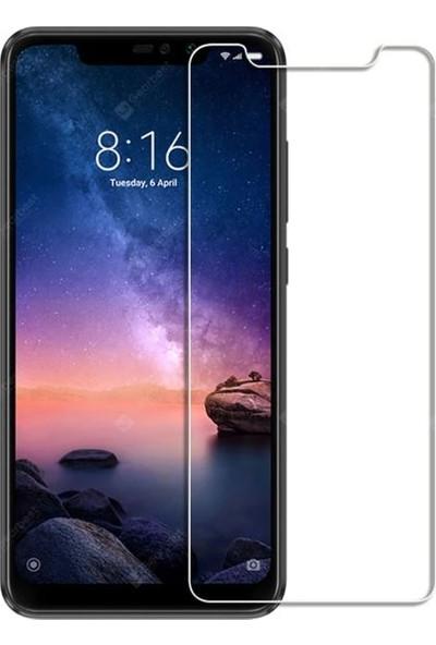 Engo Xiaomi Redmi Note 6 Pro Ekran Koruyucu Cam 2.5D 9H Temperli Şeffaf Ekran Koruyucu