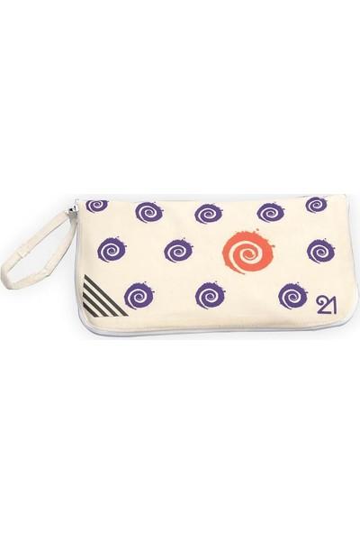 Fit21 Spiral Desenli Katlanabilir Çanta