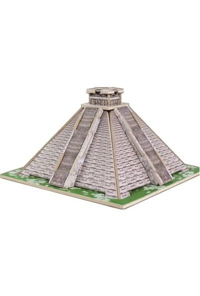 Forus Maya Piramidi 3D Ahşap Puzzle / 19 Parça