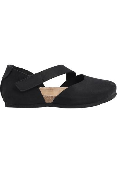 Ballerin's Kadın Siyah Ayakkabı
