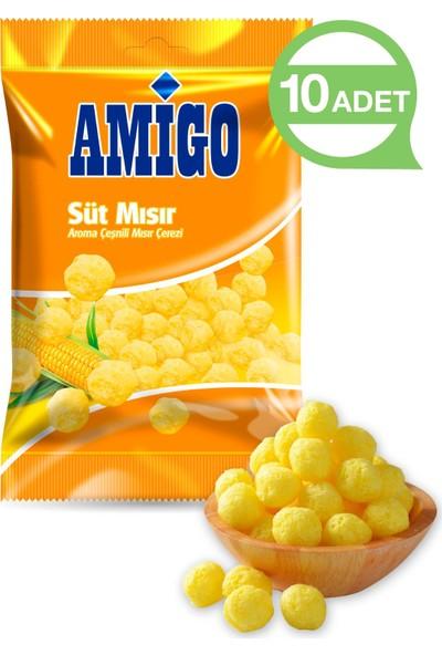 Amigo Süt Mısırı Çeşnili Mısır Çerez 130 gr (10 Adet)