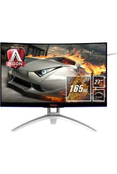 """AOC AG272FCX6 27"""" 144Hz 4ms (Analog+HDMI+Display) FreeSync Full HD Curved Monitör"""