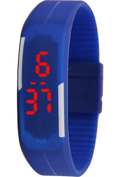 GOB2C Ekran Dokunmalı Dijital Kol Saati Mavi