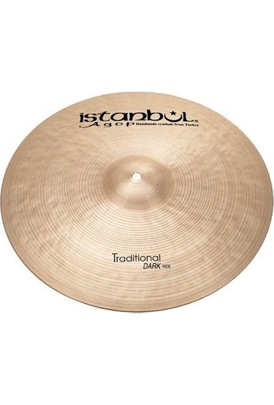 Istanbul Agop 26'' Traditional Dark Ride Zil