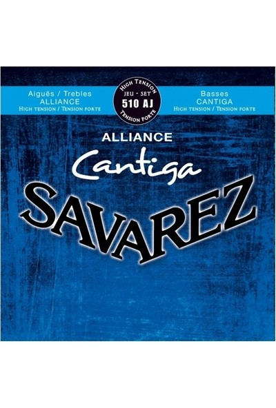 Savarez Alliance Cantiga High Tension Klasik Gitar Teli