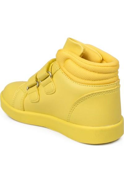 Vicco 313.B19K.104 Bebe İşıklı Cırtlı Sarı Çocuk Bot