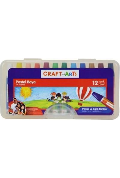 Craft And Arts 12'Li Pp Kutu Pastel Boya - U1912