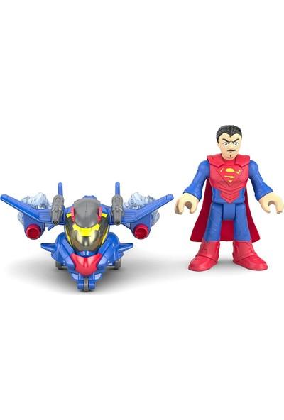 Dc Super Friends Battle Armor Süperman Oyun Seti