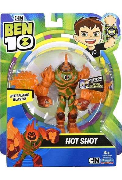 Ben 10 Hot Shot Aksiyon Figur