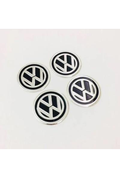 Şanlı Tuning Volkswagen Alüminyum Yapıştırma Jant Göbeği 4'lü 60Mm