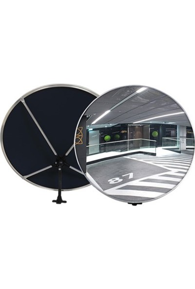 İleritrafik İç Mekan Güvenlik Aynası 40 cm