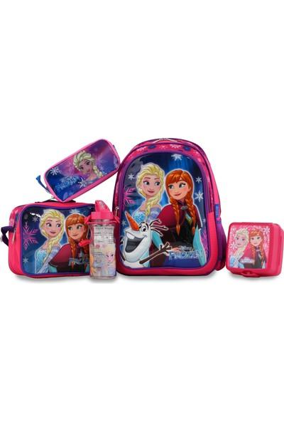 Hakan Çanta Frozen 5'li Okul Seti 95570