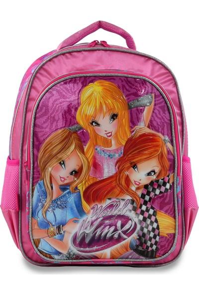 Winx Club 63248 Lisanslı Okul Çantası 3'lü Set