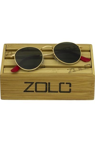 Zolo Eyewear 1980 C01 G15 Round Unisex Güneş Gözlüğü