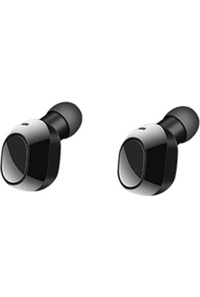 Schulzz Tws 19 Kablosuz Bluetooth 5.0 Mikrofonlu Kulaklık Siyah