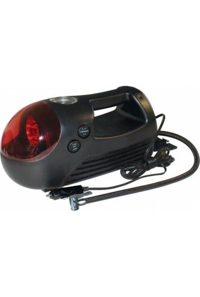 Tehcsan Hava Kompresörü Işıklı Çakmaklıklı 280 Psı 12 Volt Kompresör Lastik Şişirme