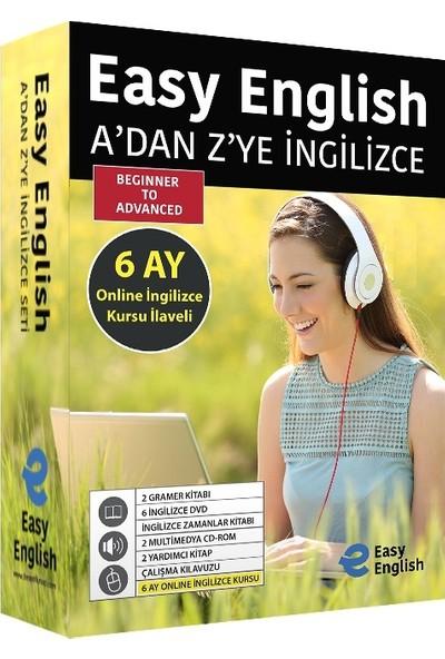 Easy English A'dan Z'ye Ingilizce Seti