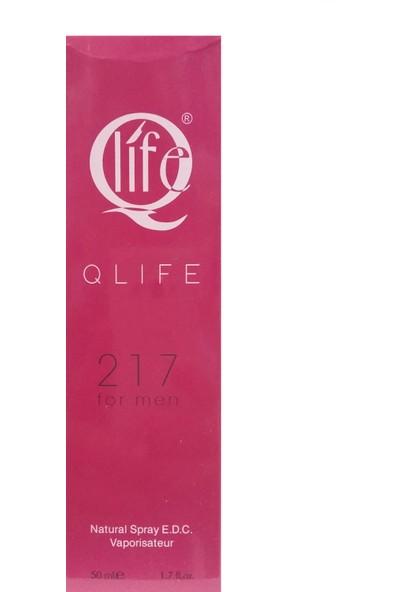 Qlife 217 Erkek Parfüm 50 ml