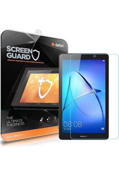"Dafoni Huawei T3 7"" Tempered Glass Premium Tablet Cam Ekran Koruyucu"