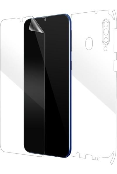 Dafoni Samsung Galaxy M30 Ön + Arka Darbe Emici Full Ekran Koruyucu Film
