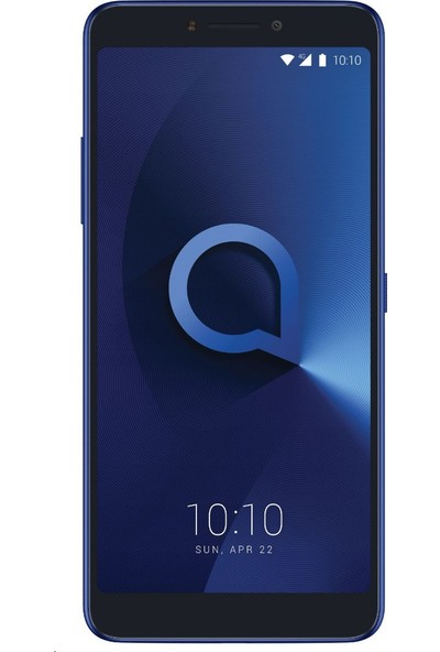 Eiroo Alcatel 3V Tempered Glass Cam Ekran Koruyucu