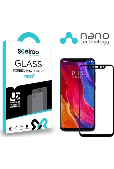 Eiroo Xiaomi Mi 8 Curve Nano Glass Cam Ekran Koruyucu