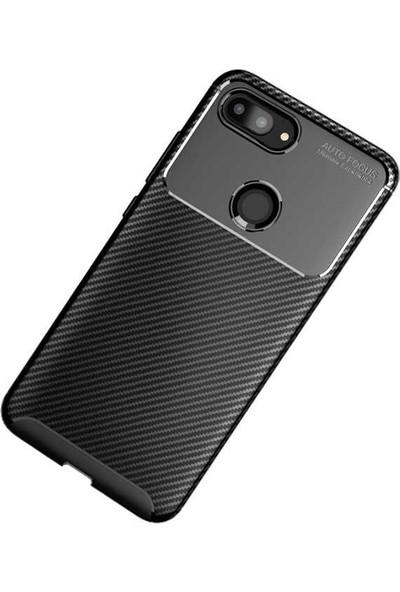 Zore Xiaomi Mi 8 Lite Negro Silikon Kılıf Siyah