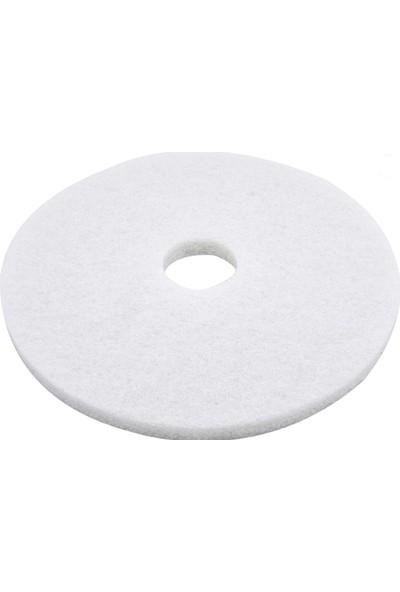 Yer Yıkama Pedi Beyaz 43 cm