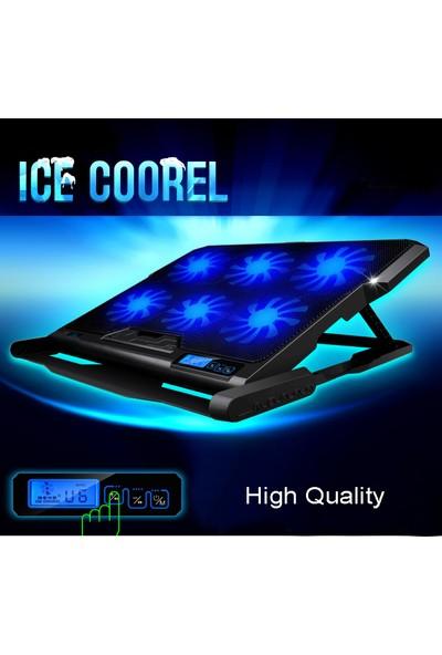 Triline Ice Coorel Notebook Soğutucu Ayarlanabilir Kademeli Stand