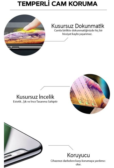 LionTech Samsung Galaxy A10 Kılıf Zırh Koruma Yüzüklü Standlı Armor Silikon Kapak + Ekran Koruma Gri
