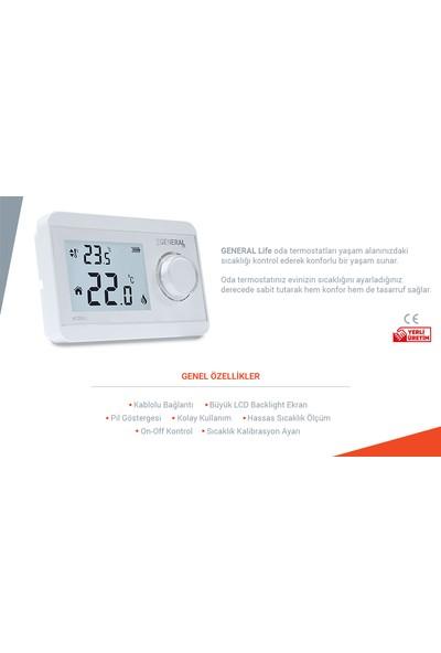 General Ht250S Dijital Kablolu Oda Termostatı