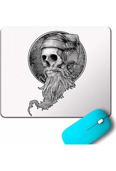 Kendim Seçtim Skull Kuru Kafa Kulaklik Listen Music Mouse Pad