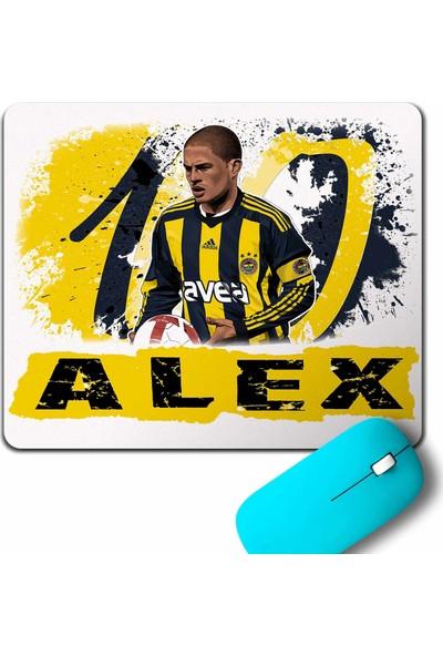 Kendim Seçtim Alex De Souza Fenerbahçe 1907 Gol Kralı Mouse Pad