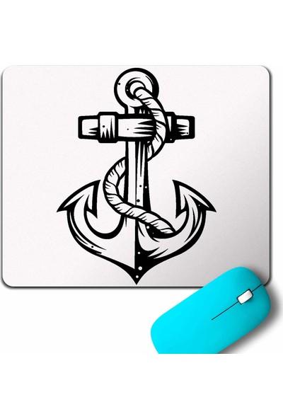 Kendim Seçtim Yelken Demir Çapa Anchor Mouse Pad