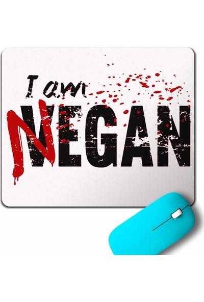 Kendim Seçtim I Am Negan The Walking Dead Yürüyen Ölüler Mouse Pad