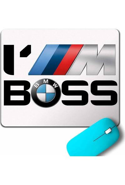Kendim Seçtim Bmw M Power Sport i'M I Am Boss Mouse Pad