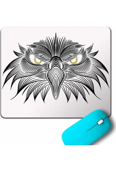 Kendim Seçtim Kara Kartal Black Eagle Beşiktaş Çizgili Mouse Pad