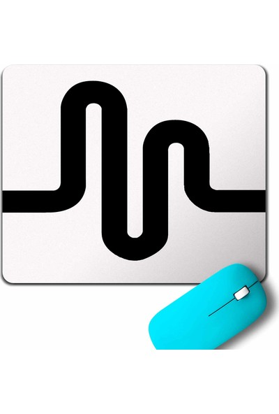 Kendim Seçtim Musical Ly Musical.Ly Crown Wave Classic Müzik Mouse Pad