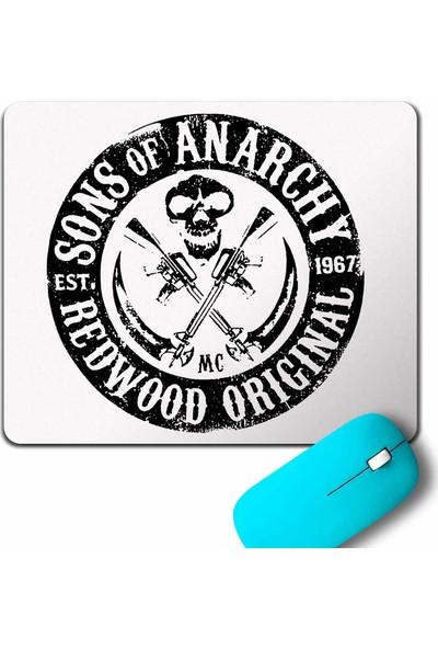 Kendim Seçtim Sons Of Anarchy Redwood Original Anarşi Eylem Mouse Pad