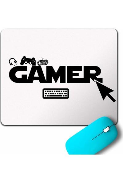 Kendim Seçtim The Gamer Bilgisayar Online Oyuncu Player Mouse Pad