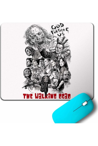 Kendim Seçtim The Walking Dead Yürüyen Ölüler God Forgive Us Mouse Pad