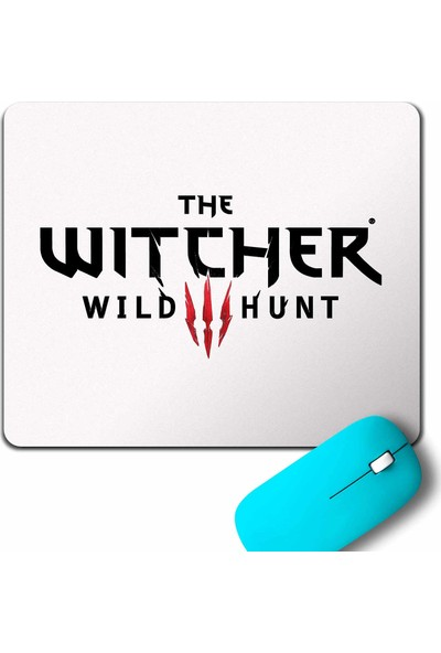 Kendim Seçtim The Witcher Avatar Wild Hunt Online Oyun Wolf Mouse Pad