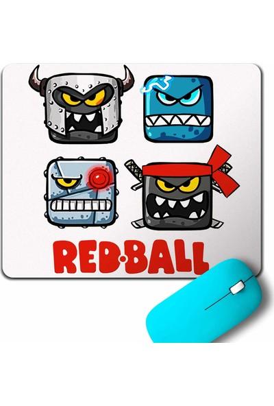 Kendim Seçtim Red Ball 4 Crazy Kırmızı Top Redball Mouse Pad