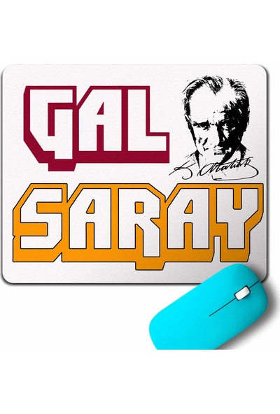 Kendim Seçtim Mustafa Kemal Atatürk Galatasaray Ata Gs 1905 Mouse Pad