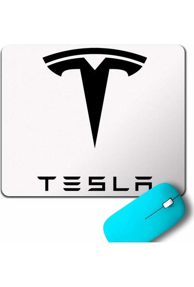 Kendim Seçtim Tesla Motors Nikola Tesla Logo Elon Musk Mouse Pad